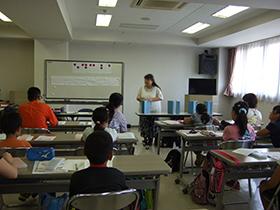 小学生点字教室の写真