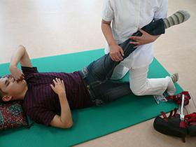 機能訓練 理学療法写真
