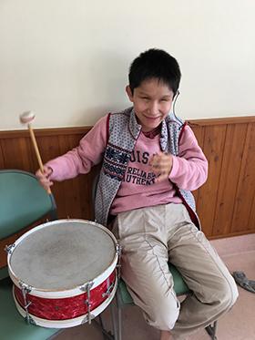 機能訓練 音楽療法の写真