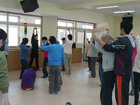 身体表現活動の写真