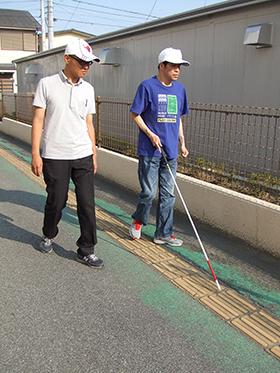 歩行訓練の写真
